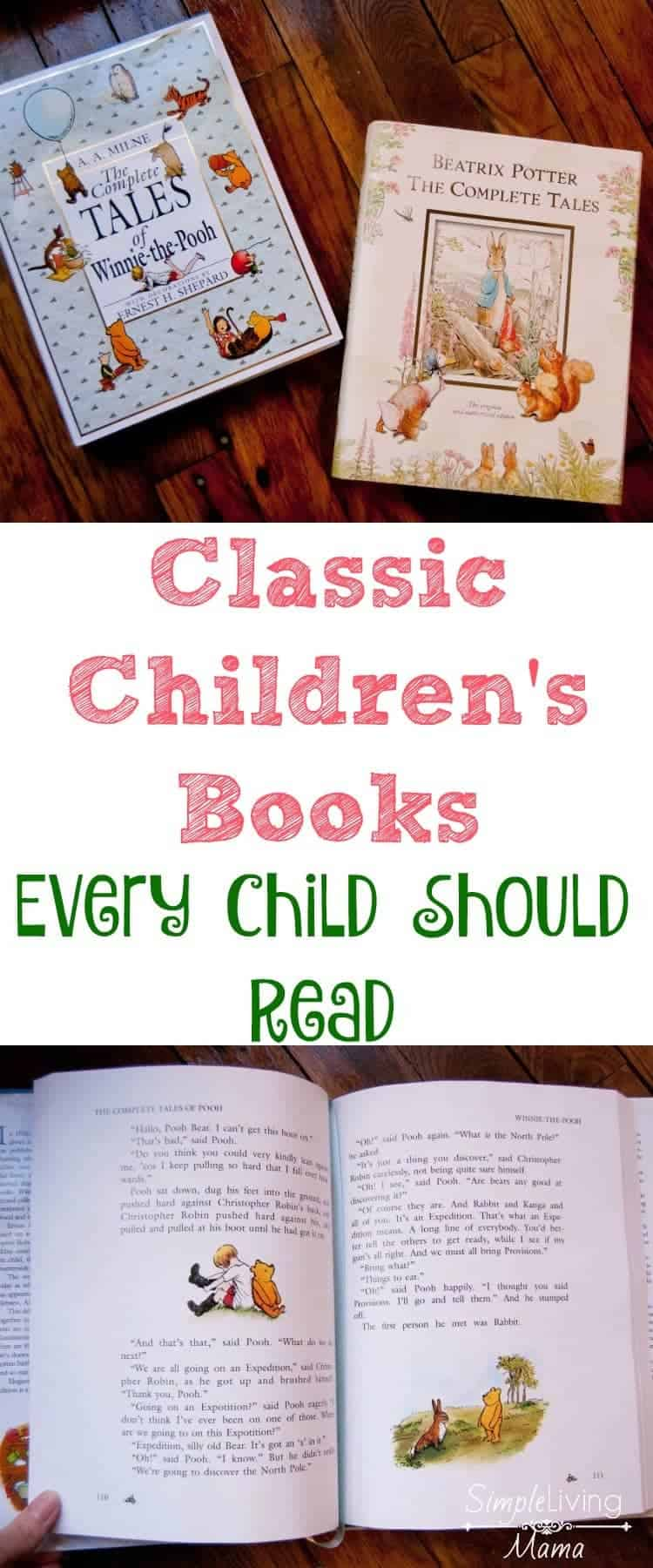 Classic children's books every child should read