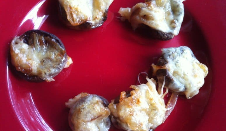 French Onion Soup Stuffed Mushrooms – Yum