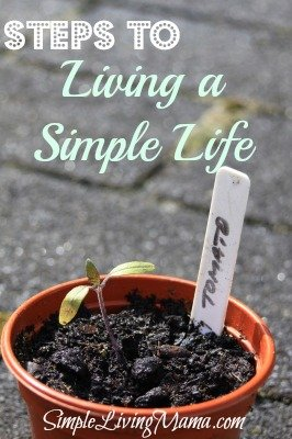steps to living a simple life