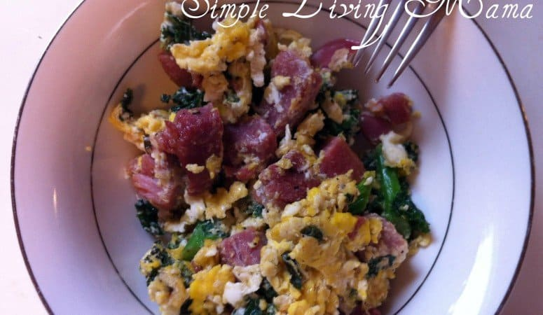 Healthy Green Eggs and Ham