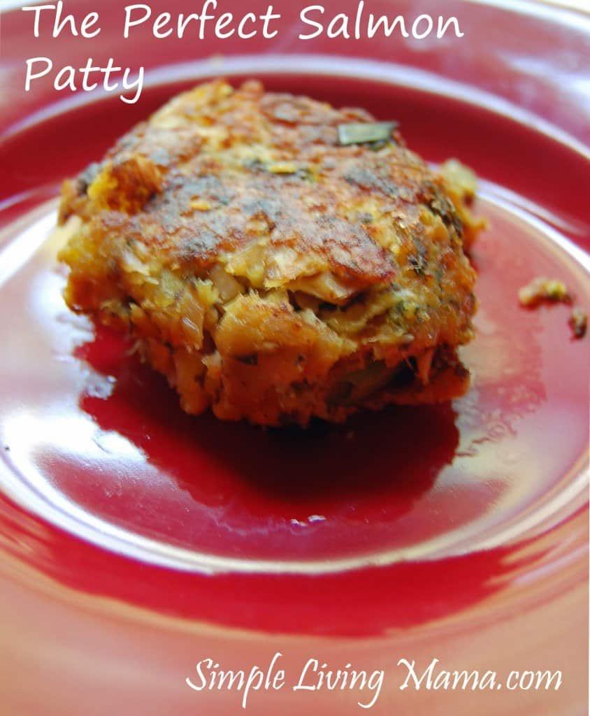 The perfect salmon patty recipe!