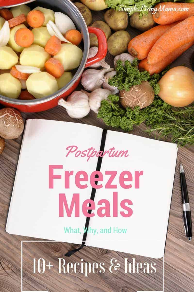 Freezer Meals After Baby's Birth