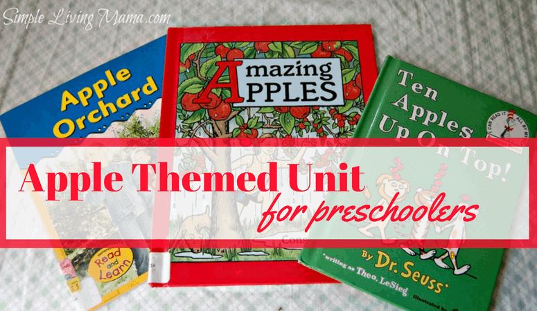 Apple Unit Study for Preschoolers