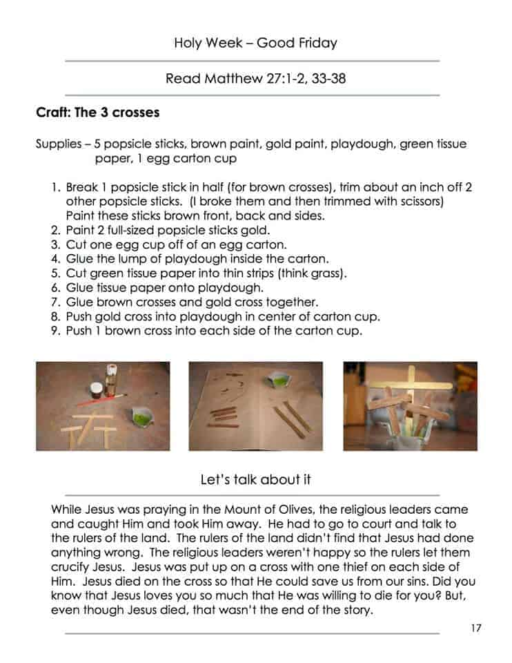 Easter Crafts For Kids The Bunny The Egg And The Cross Review And