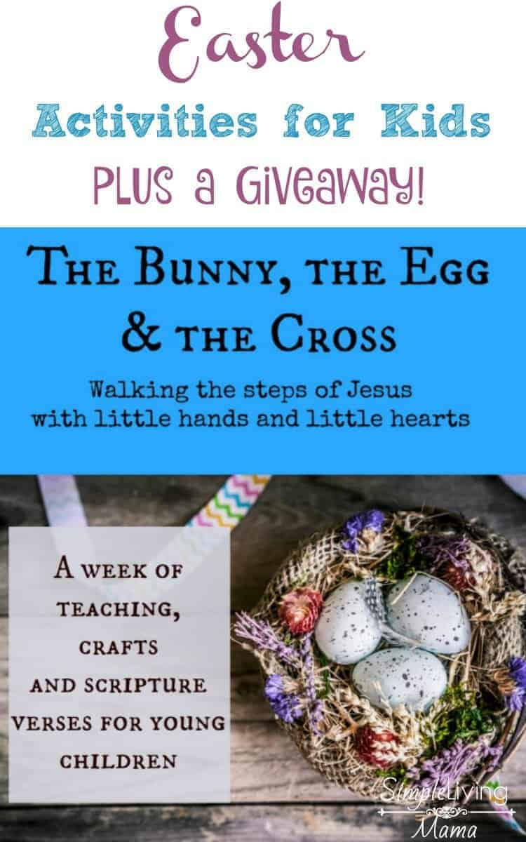 easter crafts for kids the bunny the egg and the cross review