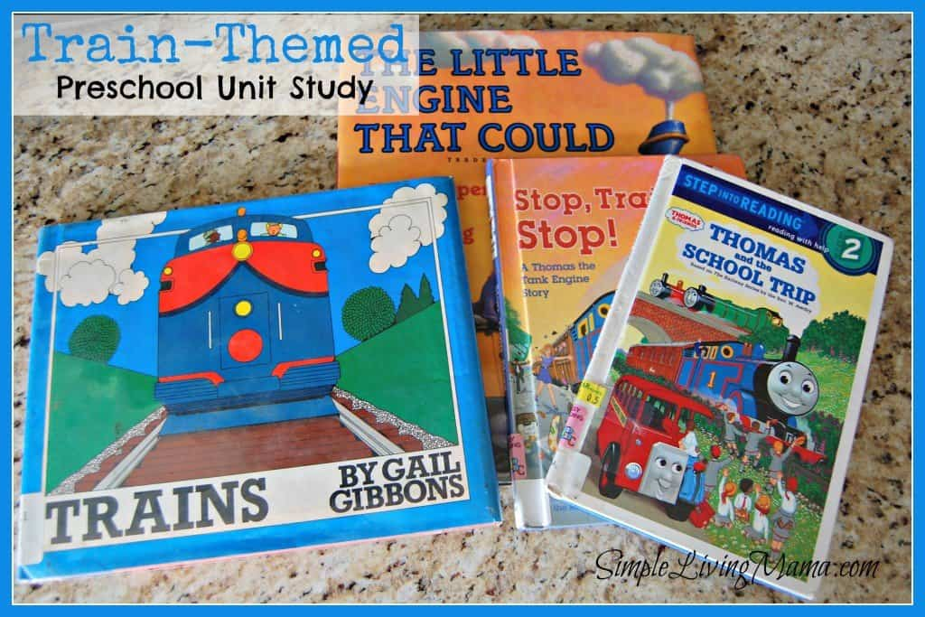 Train-Themed Preschool Unit Study