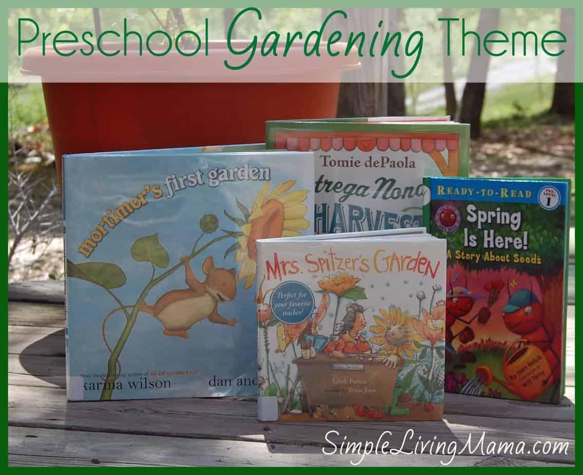 Preschool Gardening Theme : Real Life Activities, Books, Preschool Packs, & More!