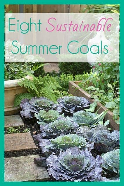 sustainable summer goals