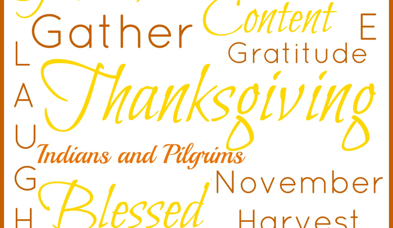 FREE Printable Thanksgiving Subway Art