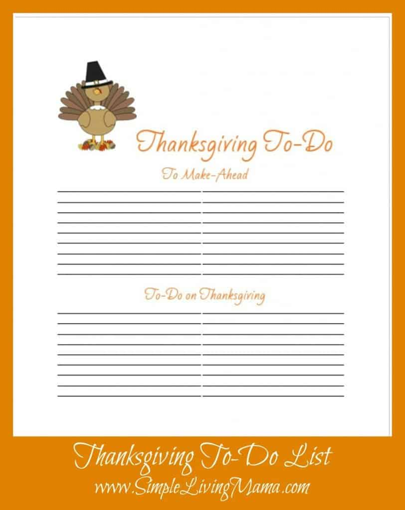 graphic relating to Thanksgiving Menu Planner Printable titled Absolutely free Printable Thanksgiving Menu Planner - Basic Dwelling Mama