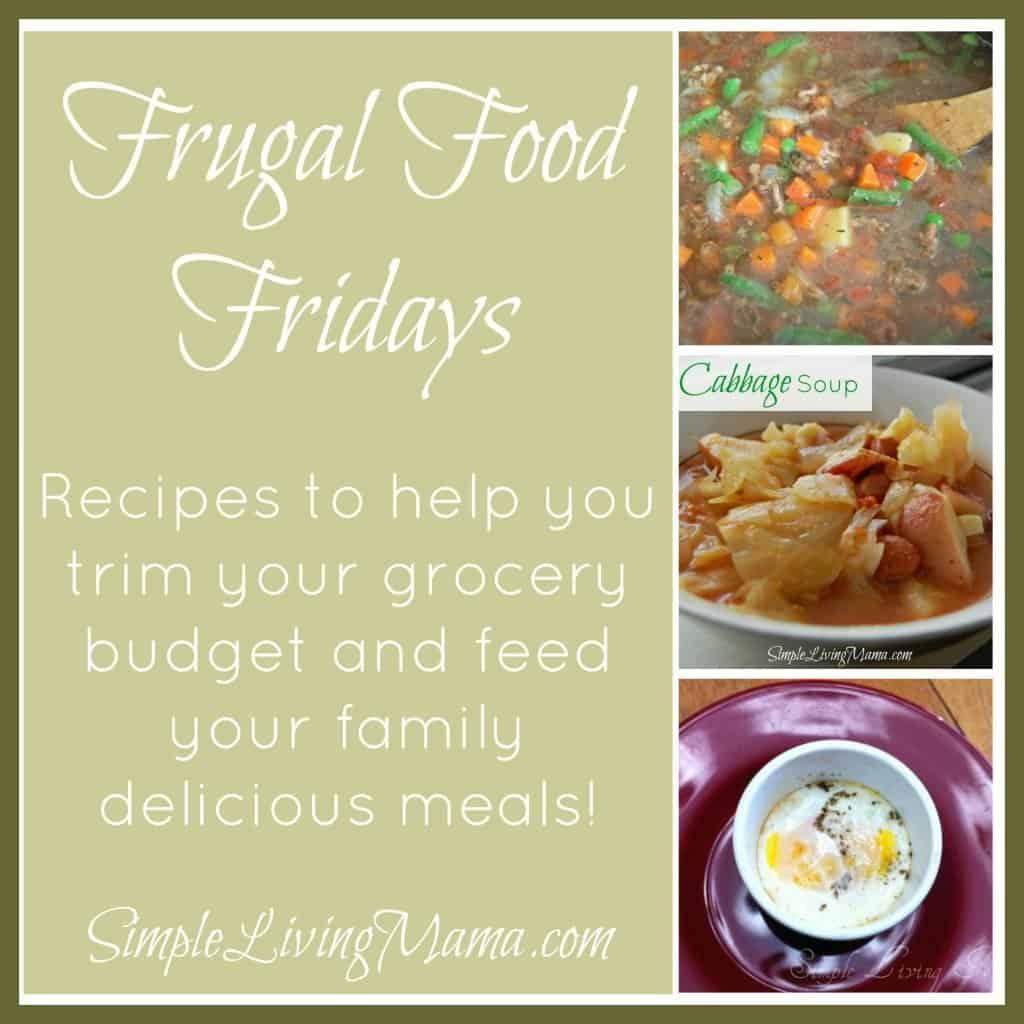 frugal food fridays