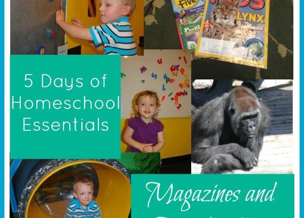 5 Days of Homeschooling Essentials: Educational Magazines & Memberships