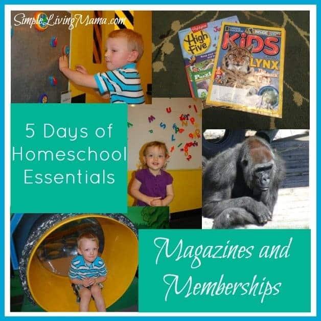 5 Days of Homeschooling Essentials: Educational Magazines & Memberships