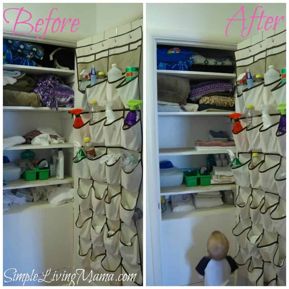 How to organize a linen closet life simplified simple for Ideas to organize a closet