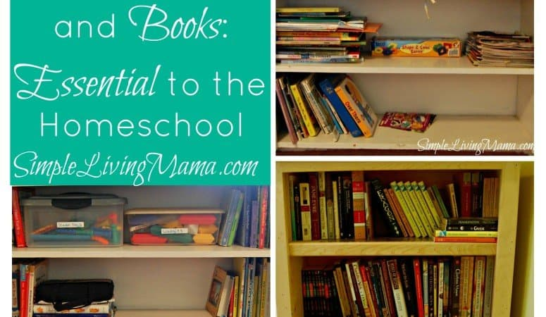 5 Days of Homeschooling Essentials: Homeschool Bookshelves and Books