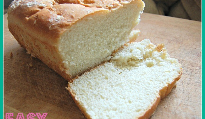 Homemade White Bread – Frugal Food Fridays