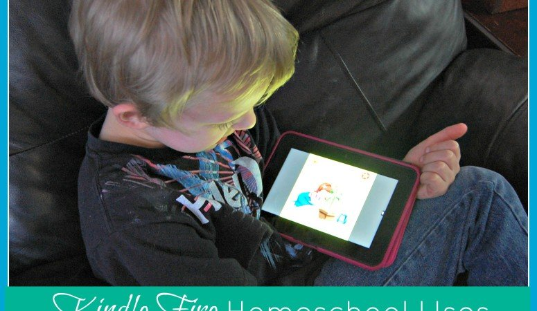 5 Days of Homeschool Essentials: Kindle Fire Homeschool Uses