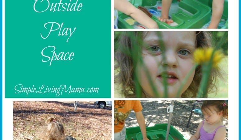 5 Days of Homeschooling Essentials: Outside Play Spaces