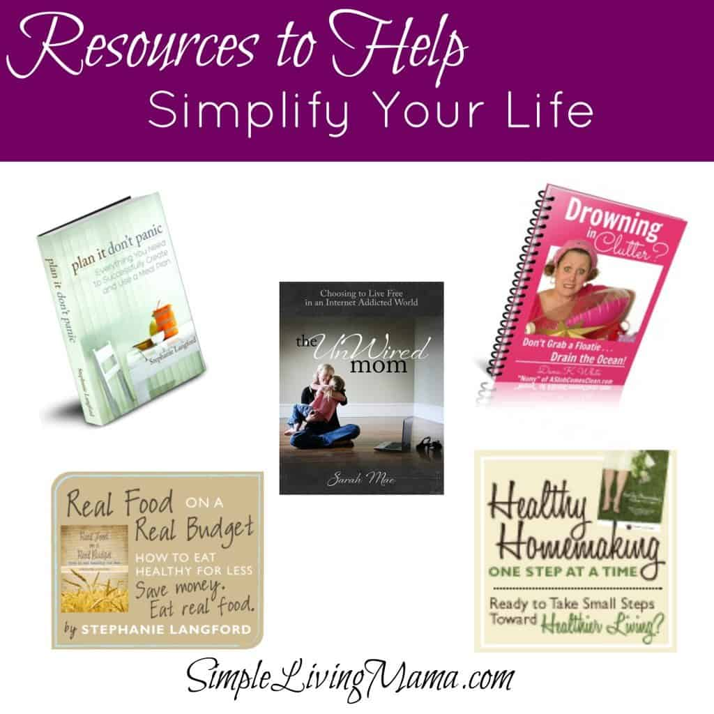 resources to help simplify your life