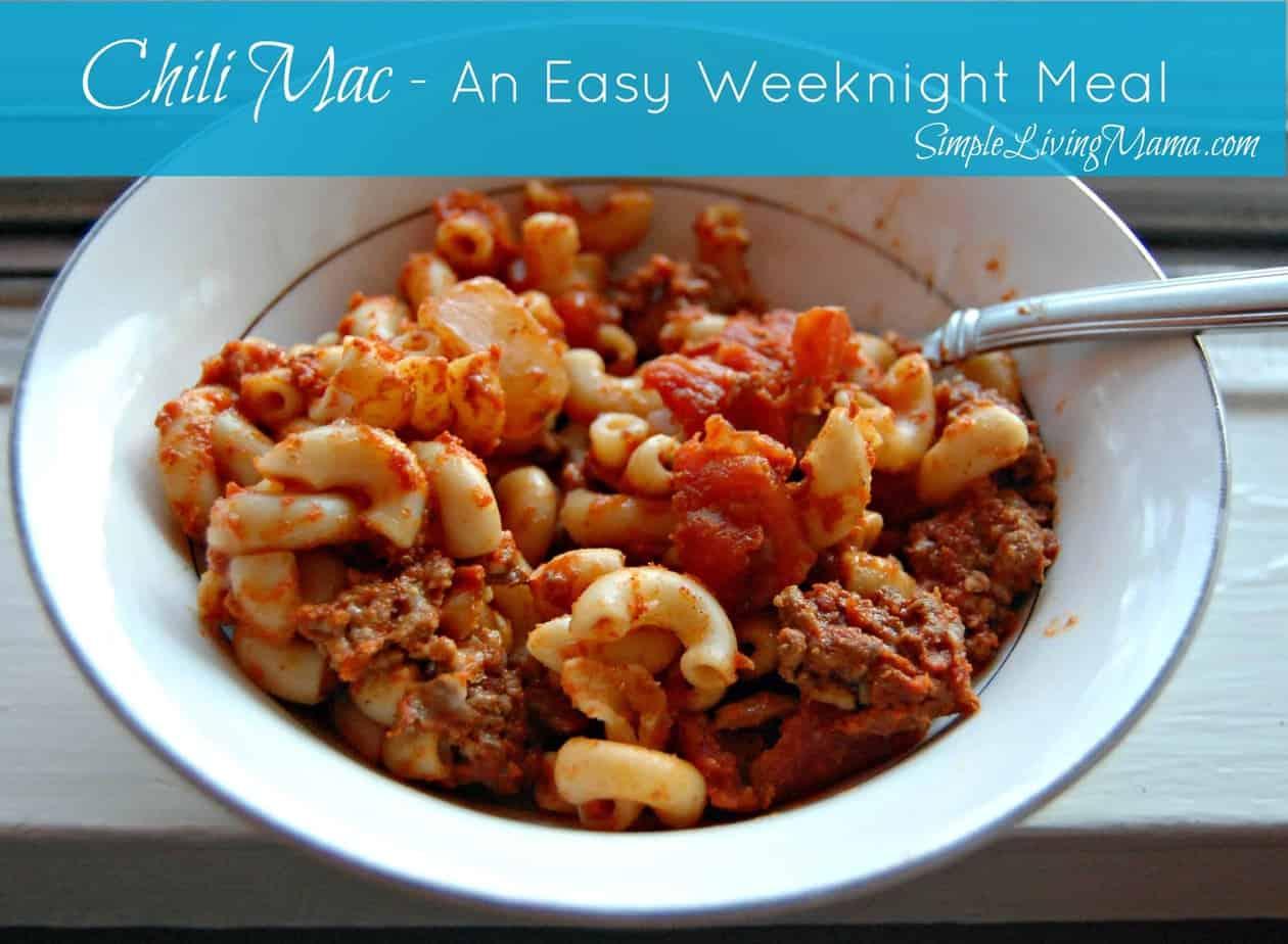 Chili Mac – Frugal Food Friday