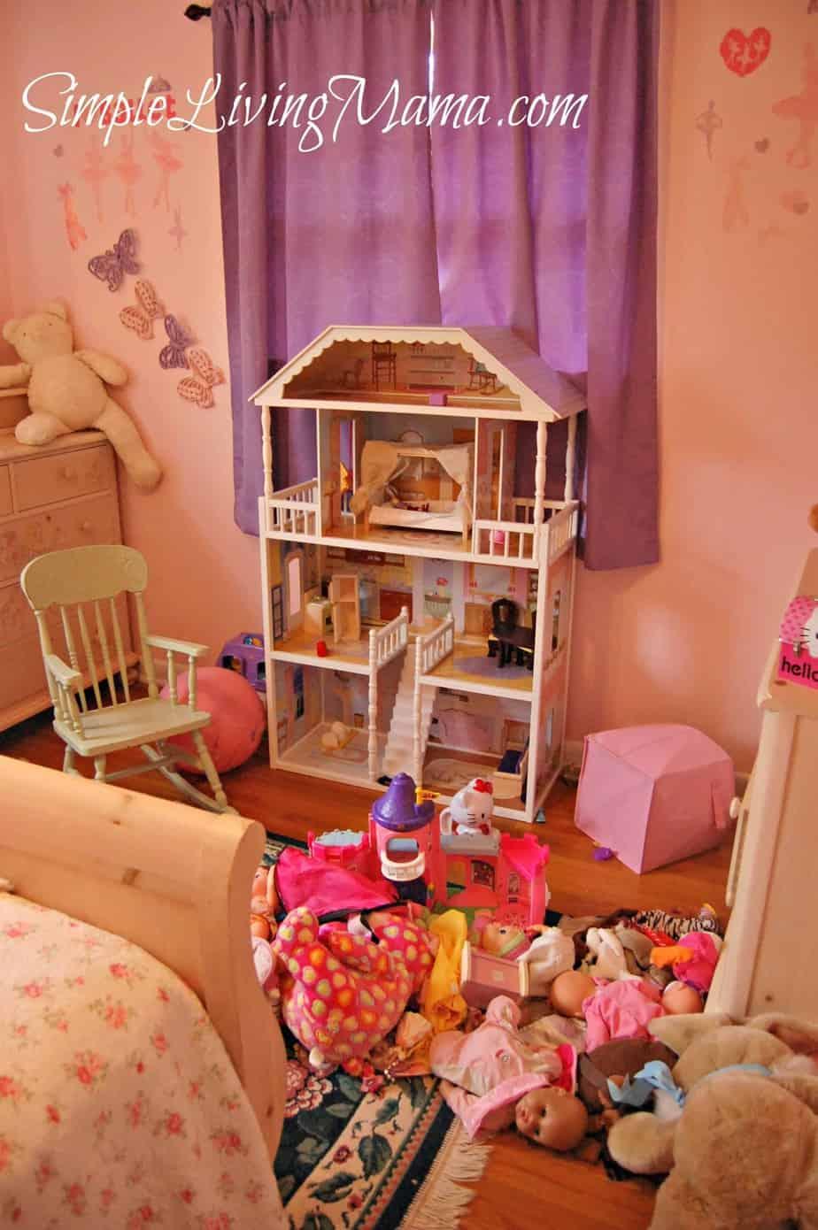 organizing children's toys 2
