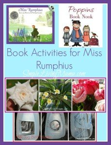 Book activities for Miss Rumphius