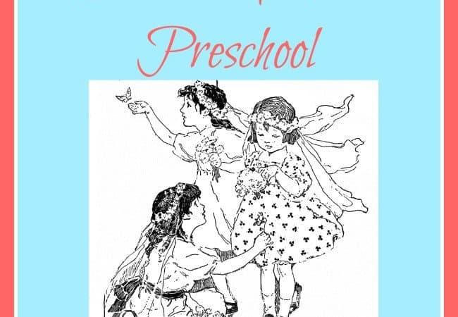 5 Days of Charlotte Mason Preschool