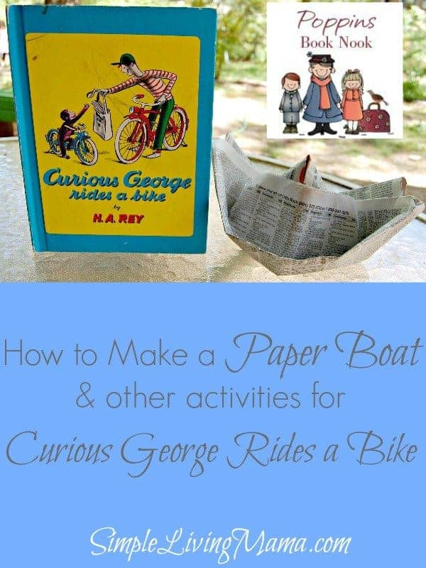 How To Make a Paper Boat – Curious George Rides a Bike