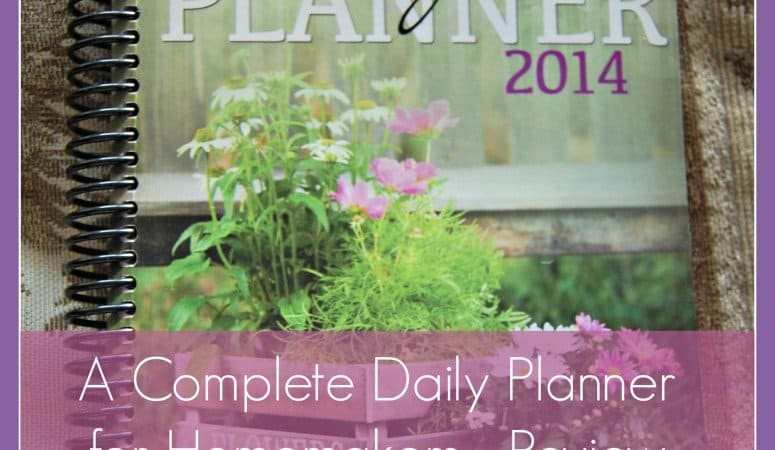 A Complete Daily Planner for Homemakers – Review & Giveaway
