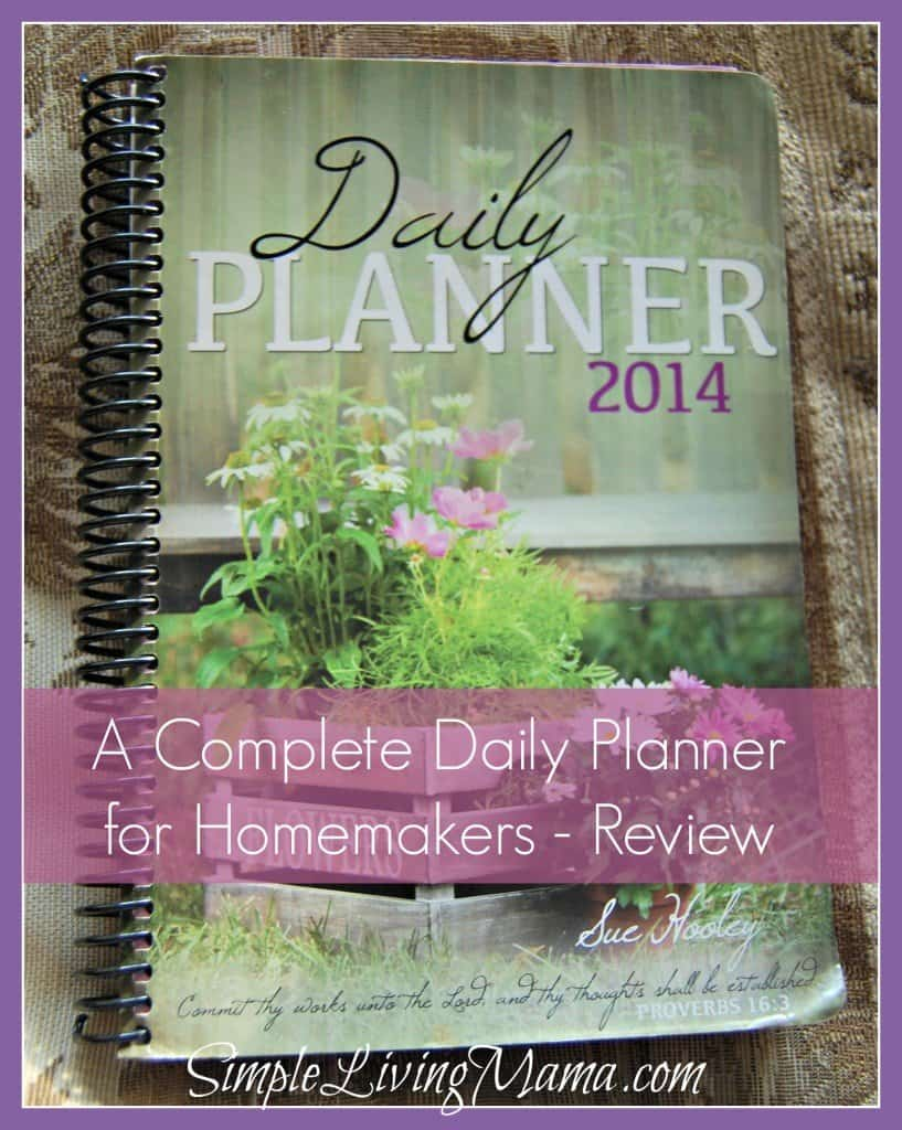 A Complete Daily Planner for Homemakers - Review