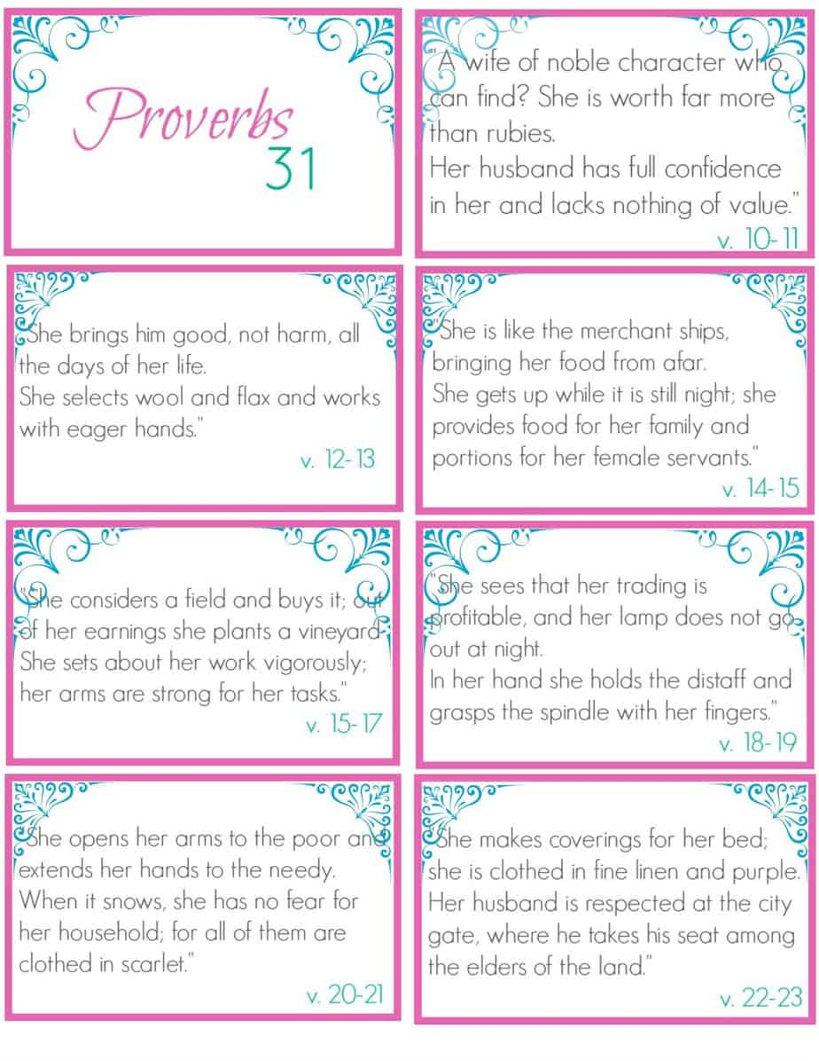 proverbs 31 I - Simple Living Mama