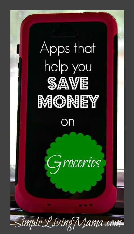 apps that help you save money on groceries