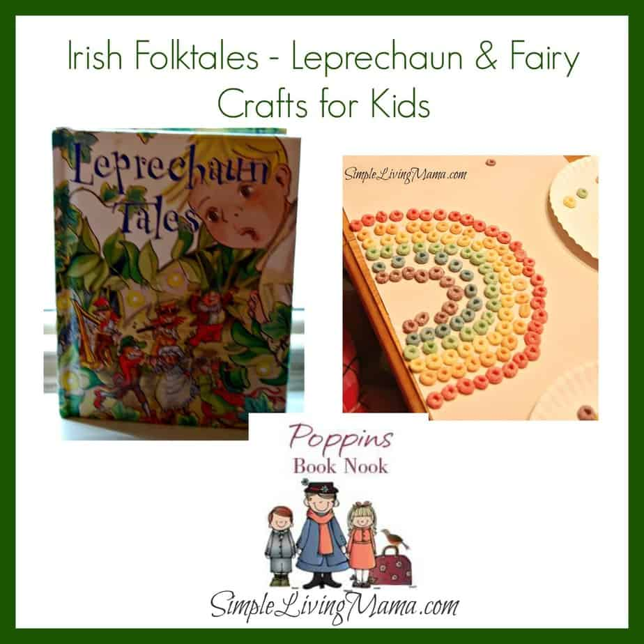 Irish Folktales Leprechaun And Fairy Crafts For Kids Simple