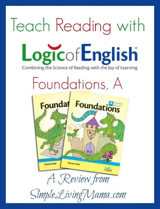 teach reading with logic of english