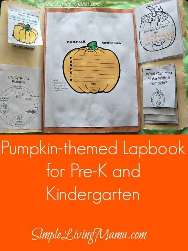 Pumpkin Themed Lapbook