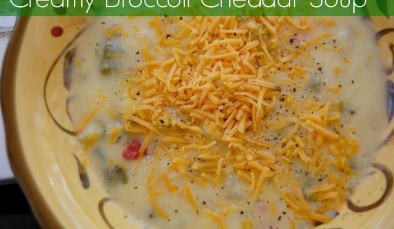 Broccoli Cheddar Soup – Frugal Food Friday