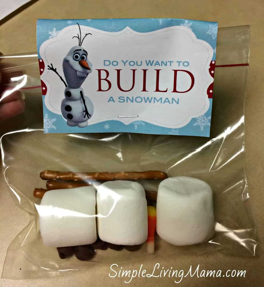 Our frozen birthday party simple living mama for I want to make a snowman