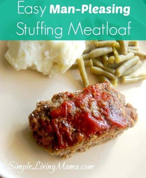 stuffing meatloaf