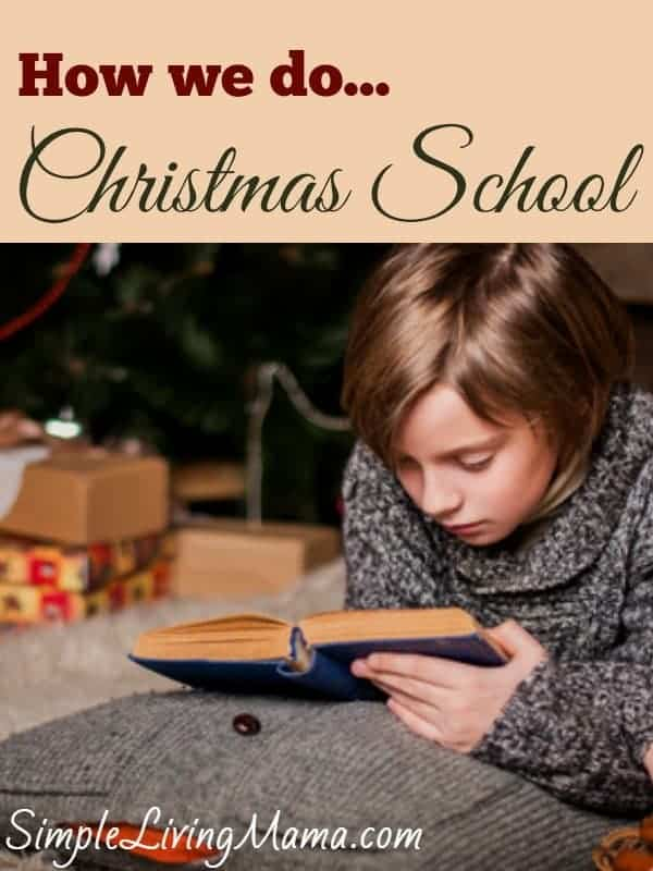 Our Christmas School Activities | simplelivingmama.com