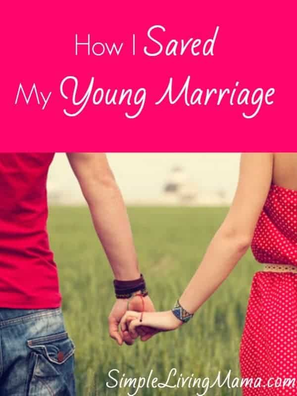 how i saved my young marriage