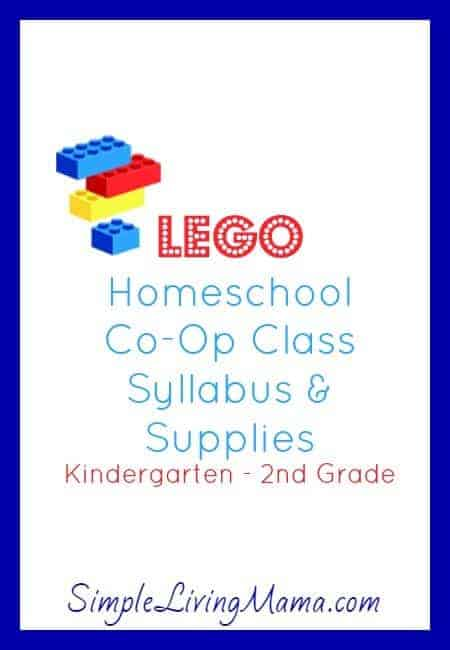How To Teach a LEGO Class for Homeschool Co-Op