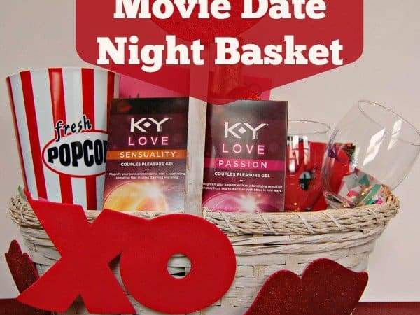 DIY Movie Date Night Basket for Your Valentine