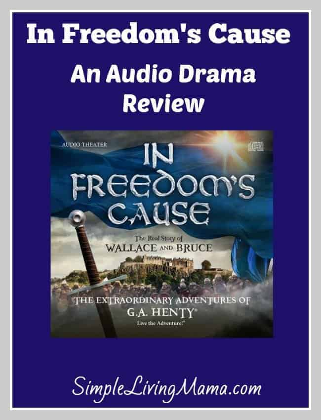 In Freedom's Cause Audio Drama -Review