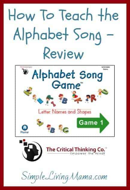 How To Teach the Alphabet Song – Review