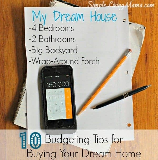 10 budgeting tips for buying your dream home simple
