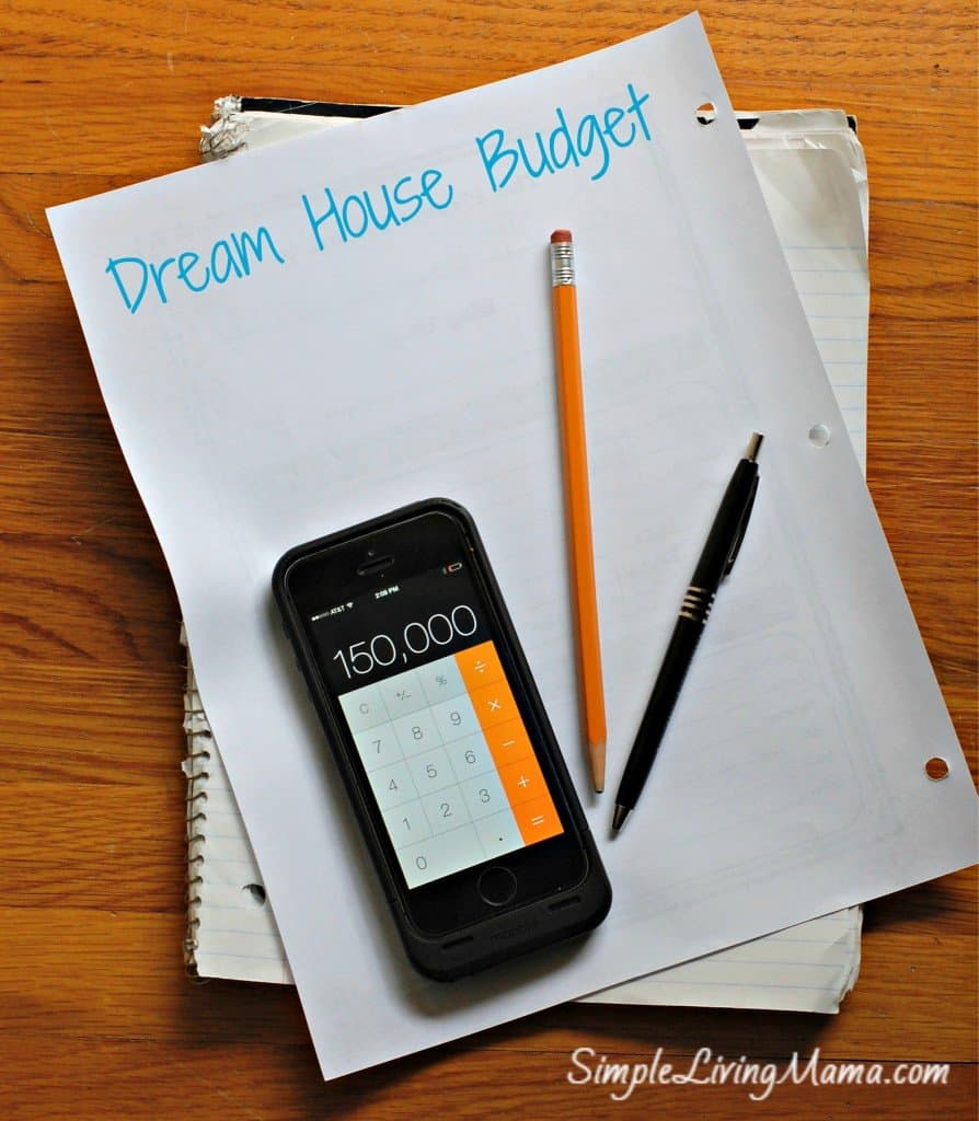 dream house budget