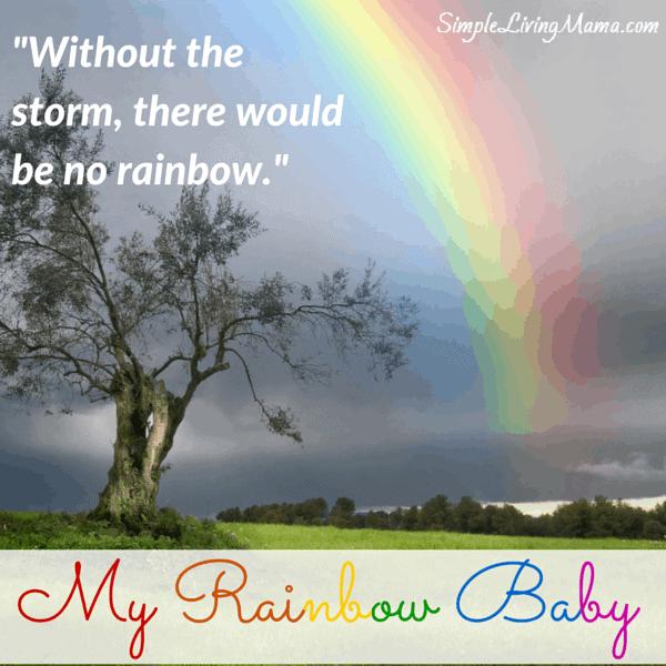 My Rainbow Baby