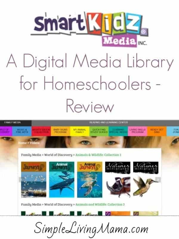 A digital media library for homeschoolers.