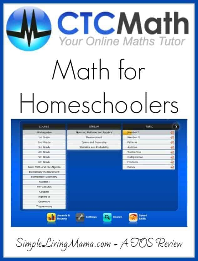 CTC Math for Homeschoolers Review