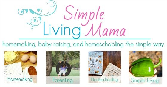 Simple living mama everyday encouragement for the for Simple living mom